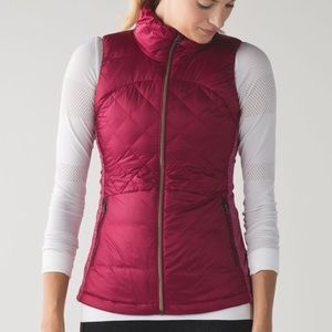 Lululemon Down For a Run Vest